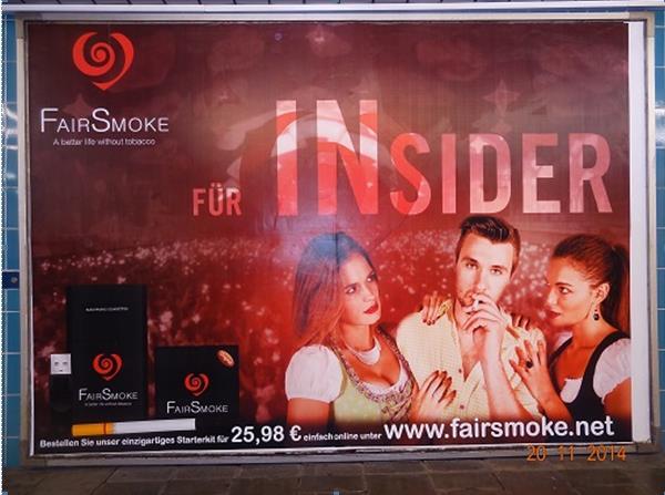 Folgen der Einstufung von E-Zigaretten als Genussmittel