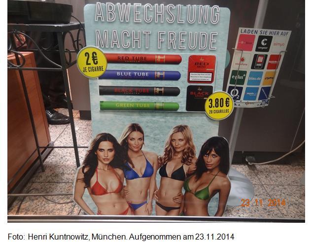 Sexistische Tabakwerbung