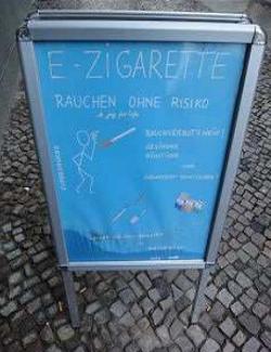 Elektrische Zigaretten verbieten!