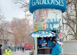 Die Nürnberger Nachrichten berichten über die Gauloises-Werbung vor einer Nürnberger Hochschule