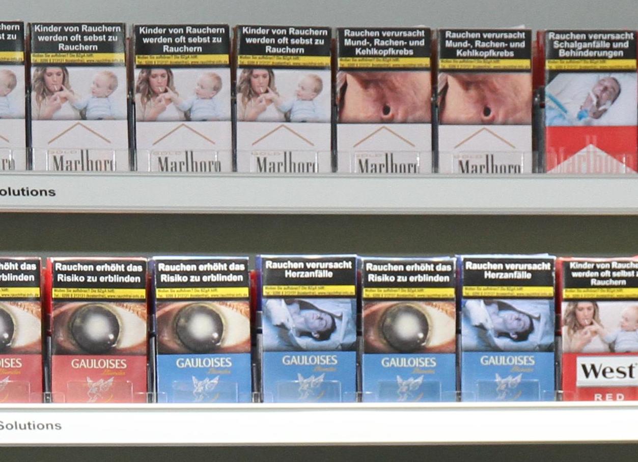 Zigaretten sind bei uns viel zu billig