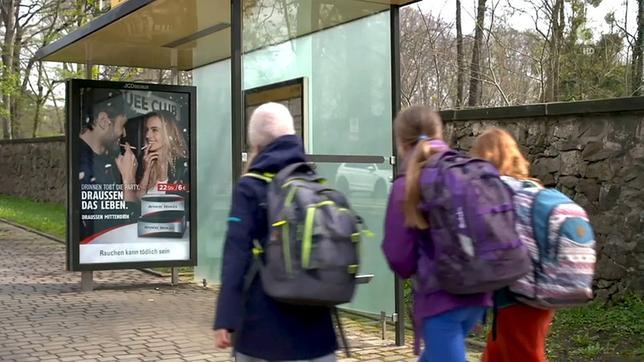 ARD berichtet über Blockade des Verbots der Tabakaußenwerbung