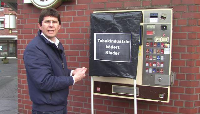 Neues Video von Dr. Joachim Kamp gegen Tabakautomaten