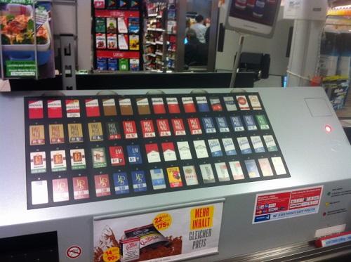 Pro Rauchfrei klagt gegen verdeckte Schockbilder beim Verkauf in Supermärkten