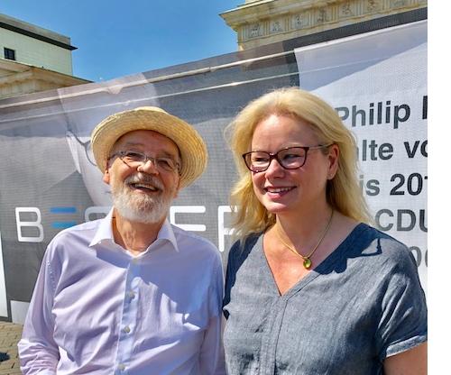 Kirsten Kappert-Gonther zum Weltnichtrauchertag am Brandenburger Tor