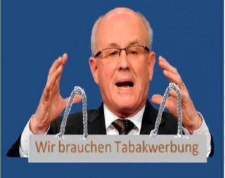 Der Tabaklobbyist Kauder ist als Unionsfraktionschef abgetreten
