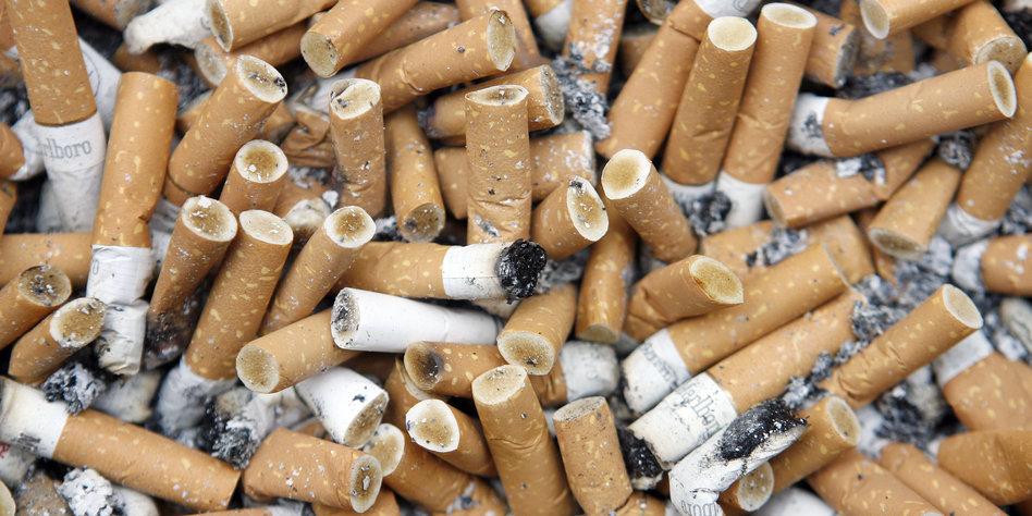 Ausgeraucht: Beim Nichtraucherschutz gilt offenbar zweierlei Maß Foto: ap