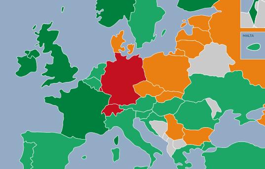 Deutsche Tabakkontrollpolitik durchgefallen