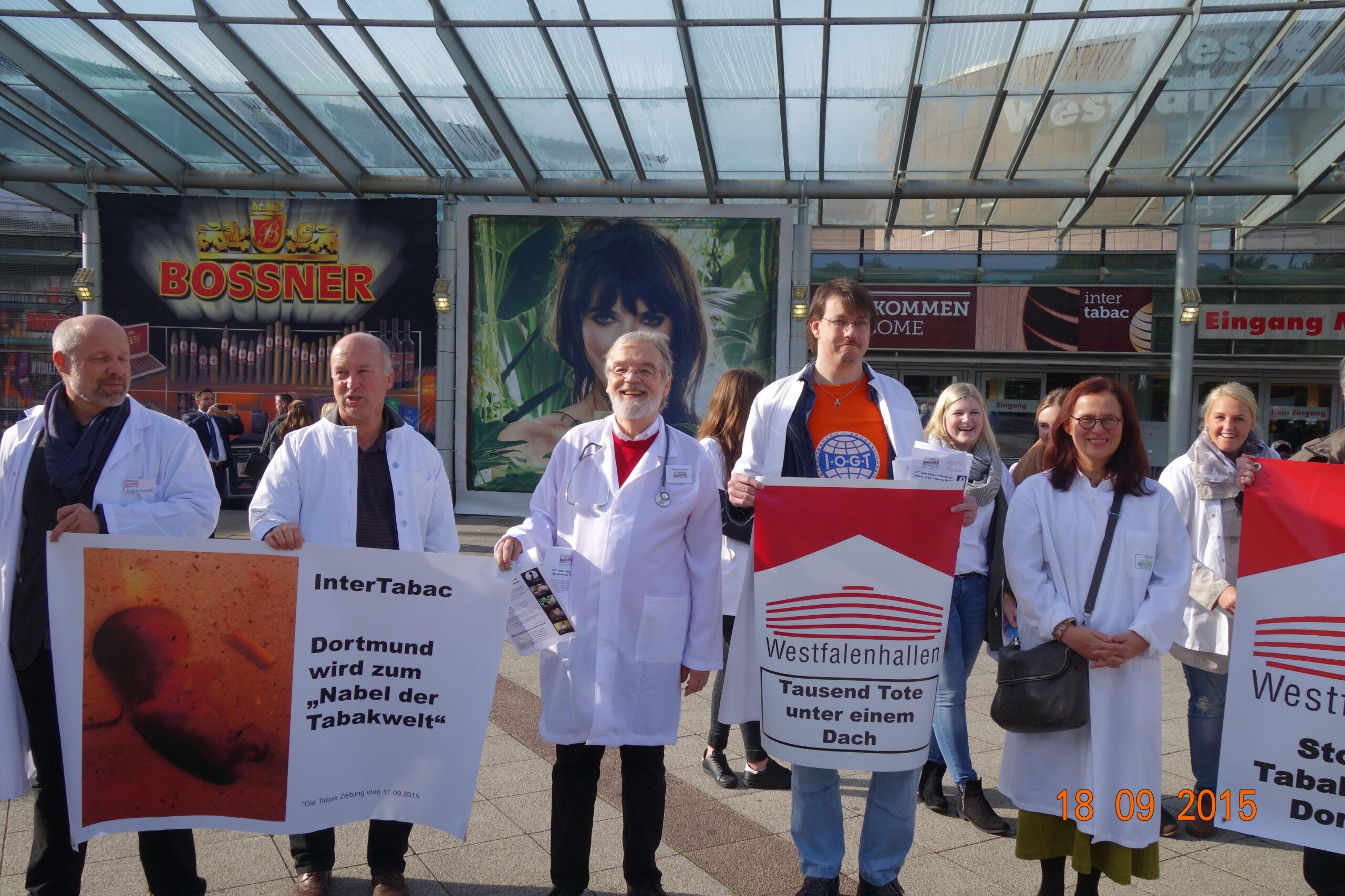 Tabakmesse InterTabac in Dortmund abgesagt