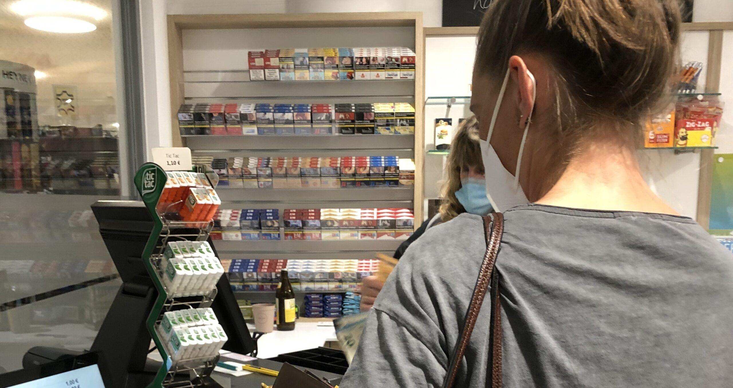 Stoppt den Verkauf von Tabakwaren im Krankenhaus